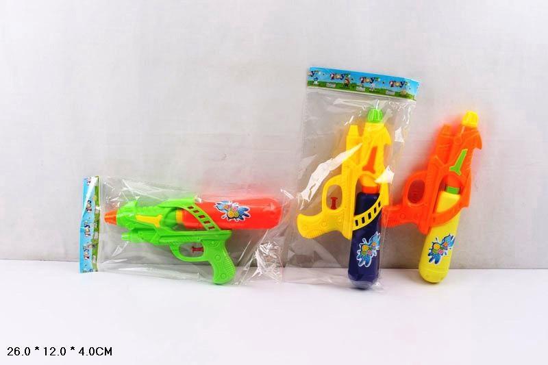 Водяной пистолет 812, 3 вида в пакете 26*12*4см