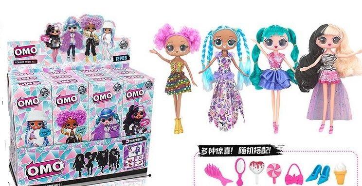 Кукла LOL. O.M.G. 29см LK1026-1 с аксес.4в.12шт.в кор.41*15,5*34,5