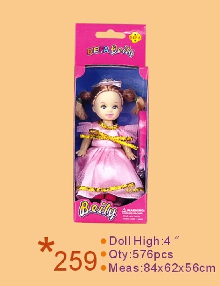 Кукла DEFA 13см 259 кор. 6,5*4*18