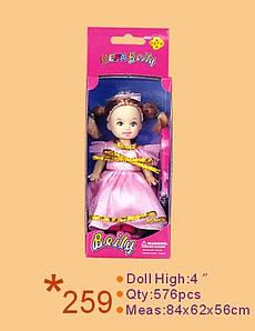 Лялька DEFA 13см 259 кор. 6,5*4*18