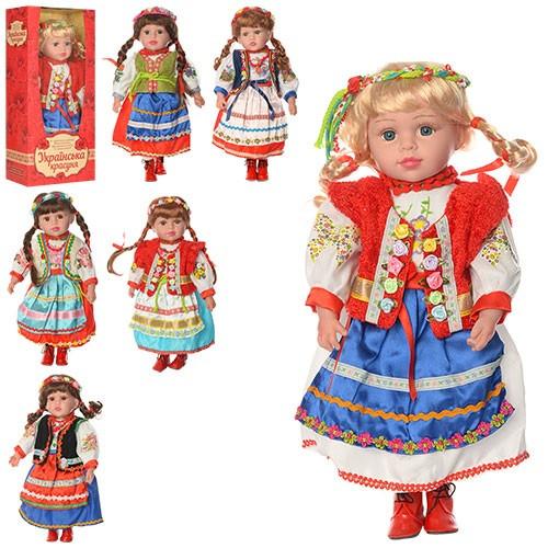 Кукла M 1191 W Украінська красуня,47cм,муз(укр.песня),на бат(таб),в разобр.кор,49-23,5-12см
