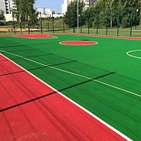 Наливное бесшовное резиновое покрытие PRO 20мм детские спортивные площадки