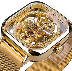 Мужские часы Forsining Eagle Gold