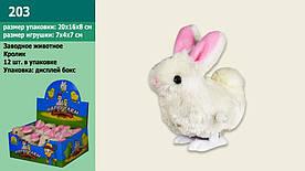 Веселі кролики 203, 12шт в дисп. боксі 20*16*8см /ціна за штуку/