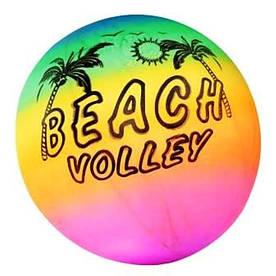 """М'яч 9"""" волейбол BT-PB-0007 кольоровий 80г сітка"""