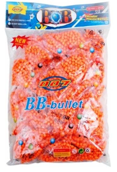 Пульки для пневмат. оружия BB-4B в упаковке 32*21см, в упаковке 50 пакет /цена за упак/