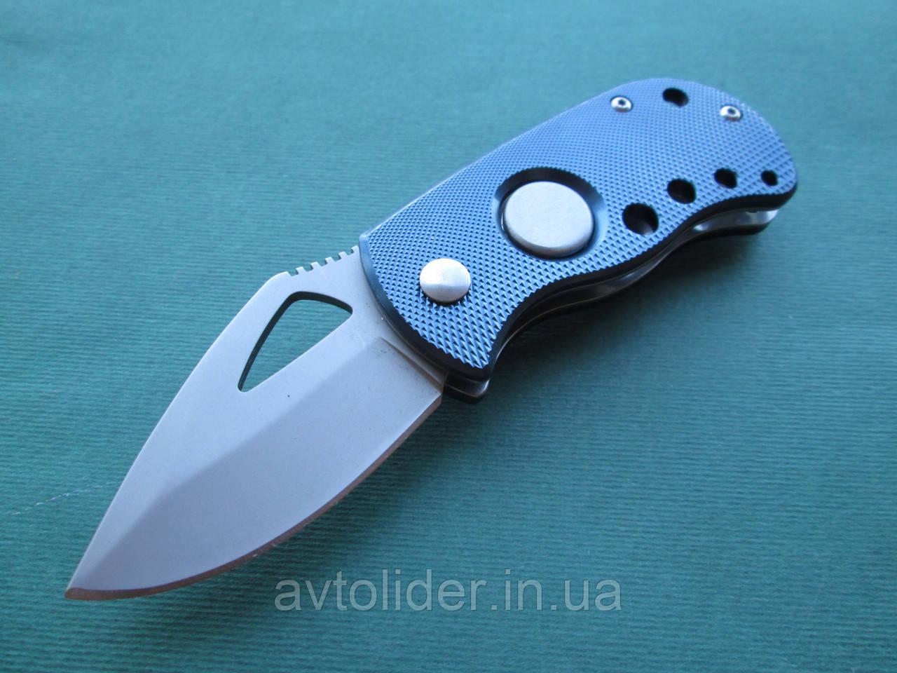 Нержавеющий складной нож с алюминиевой ручкой