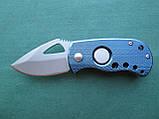 Нержавеющий складной нож с алюминиевой ручкой, фото 2