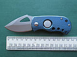 Нержавеющий складной нож с алюминиевой ручкой, фото 4