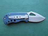 Нержавеющий складной нож с алюминиевой ручкой, фото 3
