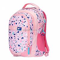 Рюкзак молодежный YES T-59 Level Up розовый (558350), фото 1