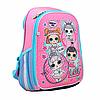 Рюкзак школьный, каркасный H-27, LOL Sweety, розовый (558099)