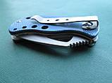 Нержавеющий складной нож с алюминиевой ручкой, фото 9