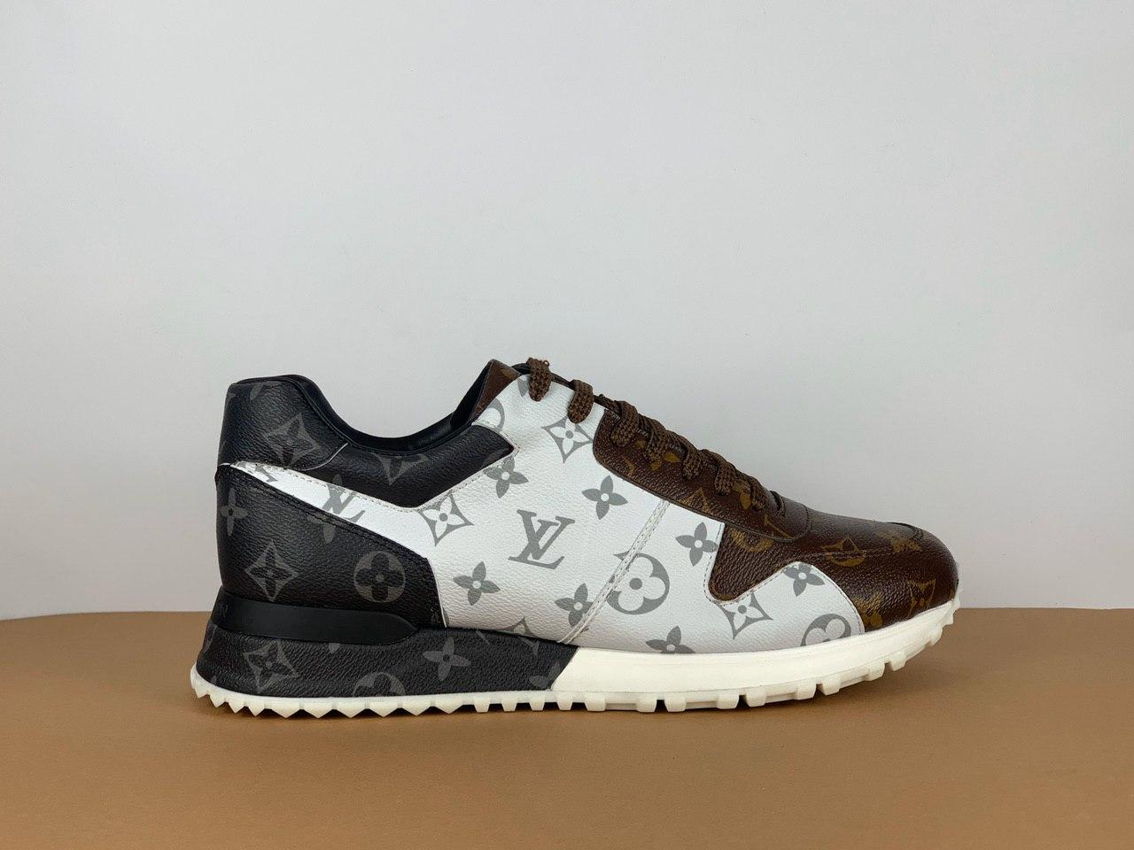 Кожаные кроссовки Louis Vuitton RUN AWAY (Луи Виттон) арт. 39-161