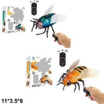 Пчела/муха 9921/9923 на Р/У свет. 2в. кор. 18,8*5,3*16,5