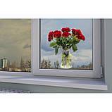 """Наклейка """"Букет червоних троянд""""  Вінілова плівка Німеччини, фото 3"""