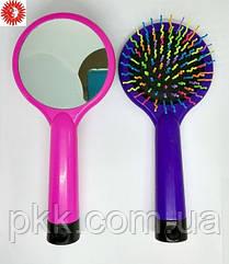 Расчёска для волос La Rosa детская массажная с зеркалом 7115 LR