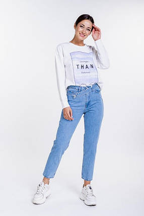 Женские укороченные МОМ джинсы, фото 2