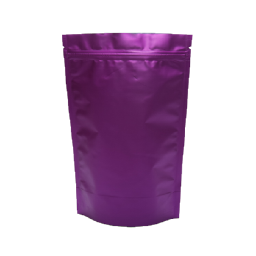 Пакет Дой-Пак фиолетовый 180*280 дно (45+45)