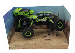 Машина на радиоуправлении Монстр-трак Rock Crawler 0980 Зеленый