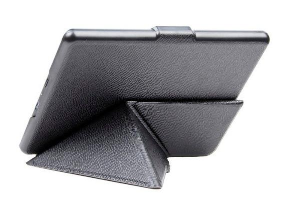 """Обложка - чехол для электронной книги Amazon Kindle E-reader 6"""" (8-го Поколения 2016) Smart Origami Чорный"""