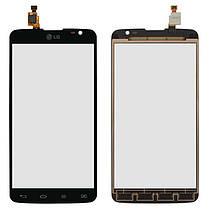 Сенсор (тачскрін) для LG D685 G Pro Lite Dual, D686 G Pro Lite Dual, чорний, фото 2