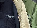 Комбинированная удлиненная джинсовая куртка с накладными карманами, 3 цвета, Р-р.42-44,44-46 Код 680Т, фото 6