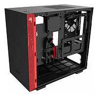 Корпус NZXT H210 Matte (CA-H210B-BR) Black Red