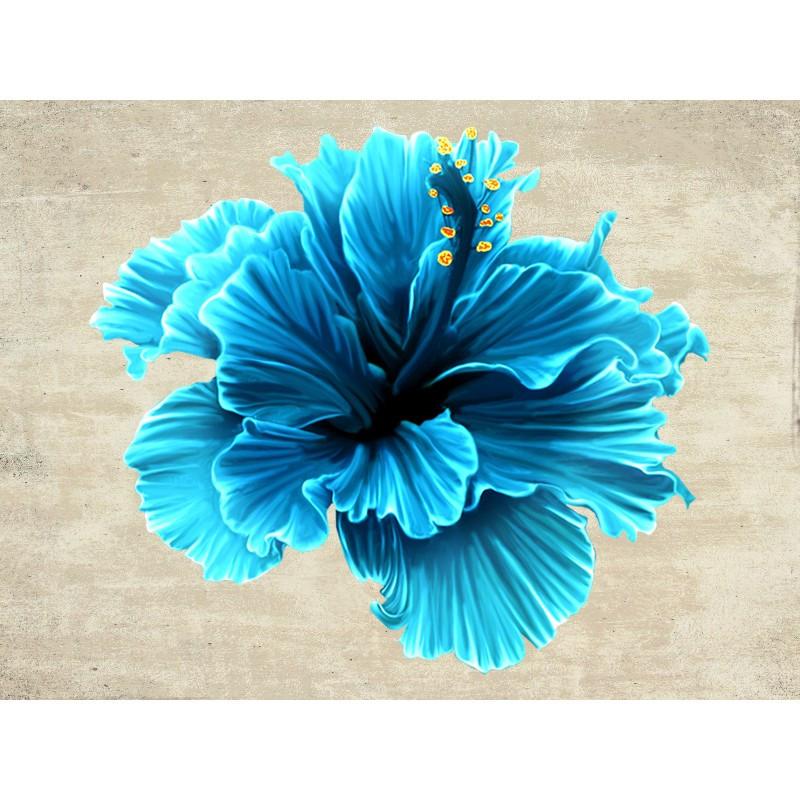 """Наклейка """"Синя квітка""""  Вінілова плівка Німеччина"""