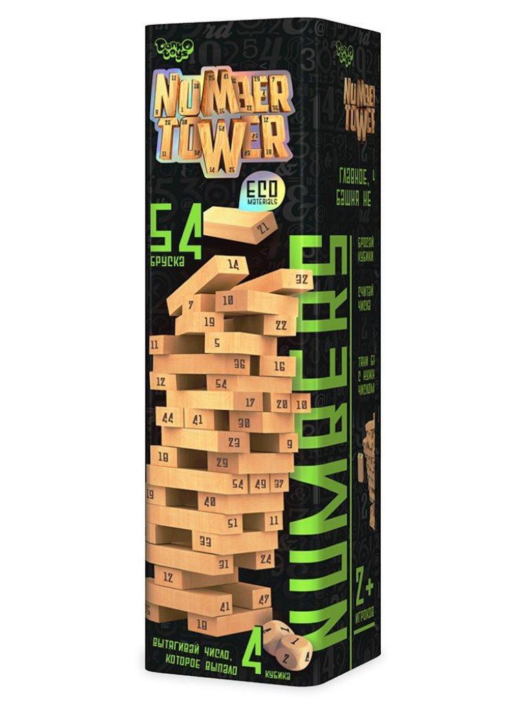 "Велика настільна гра ""NUMBER TOWER"" NT-01"