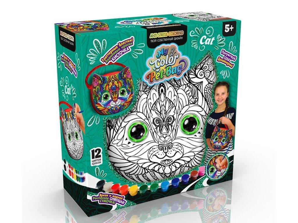 "Набор для творчества ""My Color Pet-Bag"" сумочка CPB-01-01,02,03"