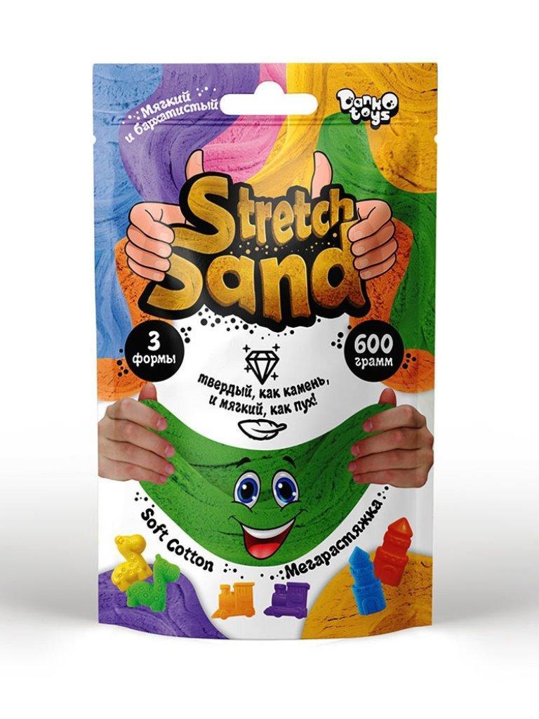 """Набор для творчества """"Stretch Sand"""" пакет 600 гр рус. STS-04-01"""
