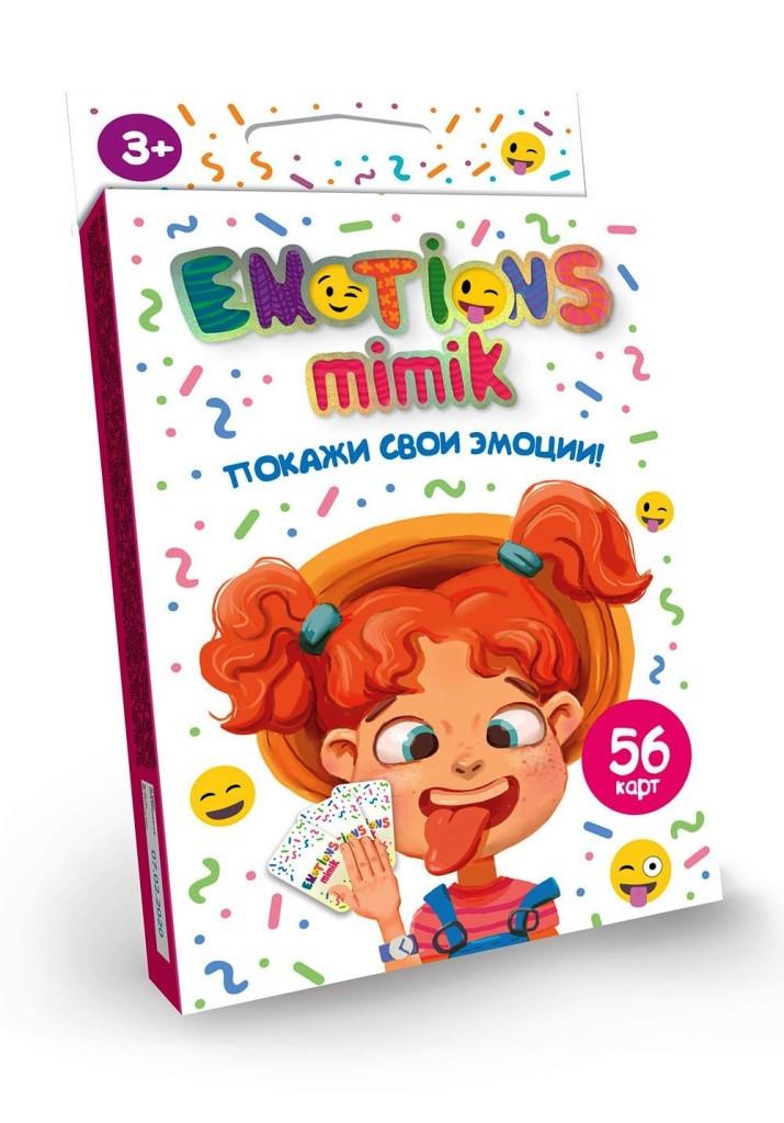 """Карточная игра """"Emotions Mimik"""" EM-01-01"""