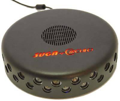 USPD Circulo Пригнічувач диктфонов Ультразвукової + Акустичний генератор шуму для антіпрослушка, фото 2