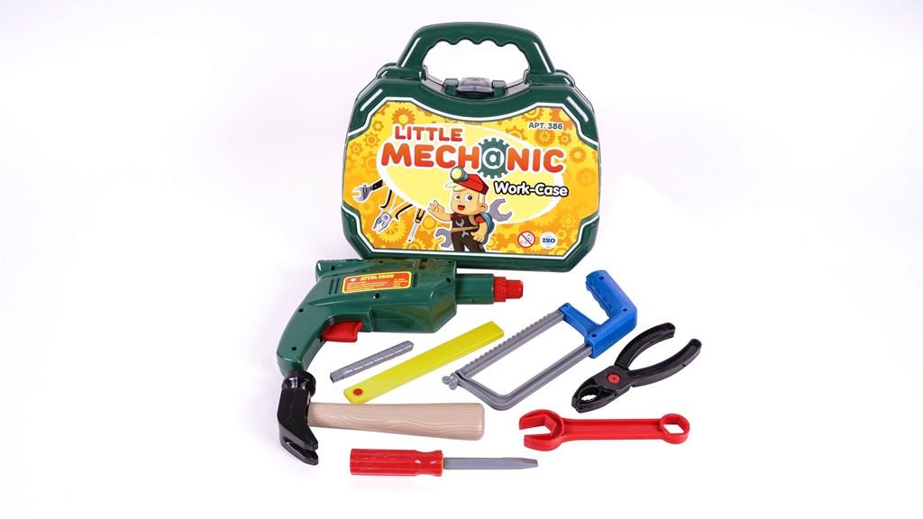 Набор иструментов Механик в чемодане (386)