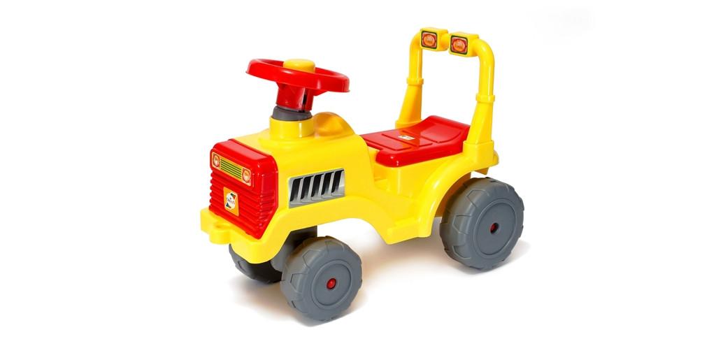 Каталка Беби-Трактор ЛИМОН (931)