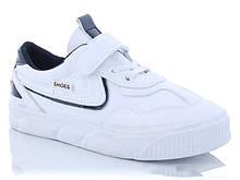 Детские кроссовки белый цвет на липучке размер 32-37 Киев
