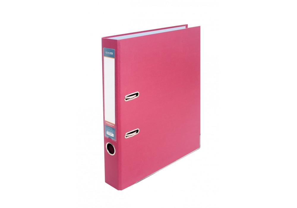 Папка-регистратор А4/5 см Economix E39720-09 розовый (10 шт в уп.)