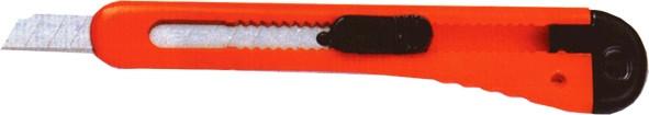 Нож канцелярский Economix E40515 9 мм пластиковый корпус (60 шт в уп.)