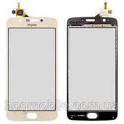 Сенсорный экран для Motorola Moto G5 XT1676, оригинал Золотистый