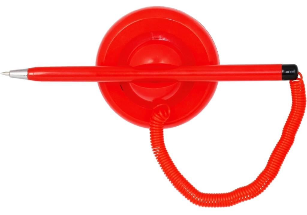 Ручка шариковая ECONOMIX POST PEN E10118-03 0,5 мм синяя, корпус красный