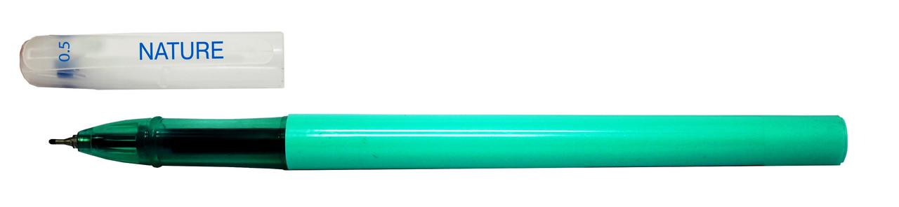 Ручка гелевая Format F17135-02 NATURE, 0,5 мм синяя (12/1)