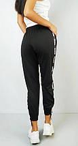 Спортивные штаны женские зеленые трикотаж с манжетами р. 50 Оschino (1230578089), фото 3