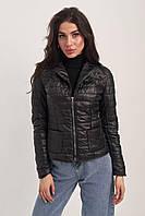 Стёганая куртка с накладными карманами  (42)