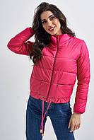 Укороченная дутая куртка (42)