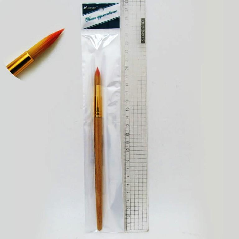 Кисть нейлон круглая (ГОСТ стандарт №7) 7-K-N (10/1)