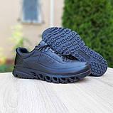 Мужские кроссовки Ecco  черные, фото 6
