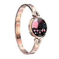 Смарт часы Фитнес браслет AK15 женские с измерением давления и пульса