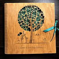 Альбом для фото А4 из дерева MK-REZ