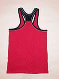 Майка-борцовка мужская Ayylldiz р.54 (3XL) Красный, фото 2